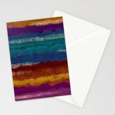 Knit stripes Stationery Cards