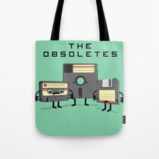 The Obsoletes (Retro Floppy Disk Cassette Tape)  Tote Bag