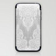 Lace & Shadows 2 - Monoc… iPhone & iPod Skin