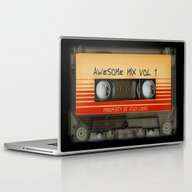 Laptop & iPad Skin featuring Awesome Transparent Mix … by Three Second