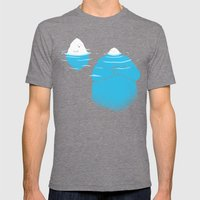The Tip Of The Iceberg Mens Fitted Tee Tri-Grey SMALL