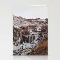 Frozen Falls Stationery Cards