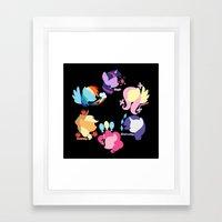 Mane Six Framed Art Print