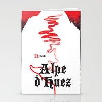 Alpe D'Huez 2, More Mena… Stationery Cards