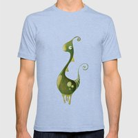 Hello Earthling! 1 Of 10 Mens Fitted Tee Tri-Blue SMALL