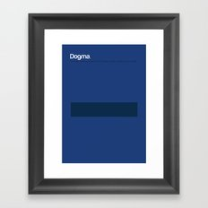 Dogma Framed Art Print