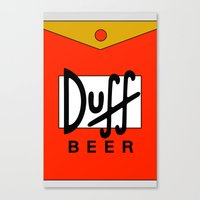 Duff Beer! Canvas Print