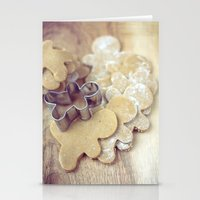 The Gingerbread People Stationery Cards