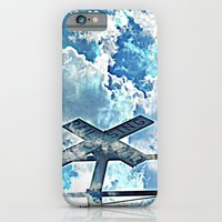 iPhone & iPod Case featuring A Place In The Clouds by DeLayne