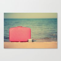 The Traveler Canvas Print