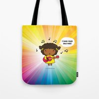 I Love Rock N' Roll Tote Bag