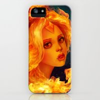 iPhone Cases featuring Flame Princess   by Annike