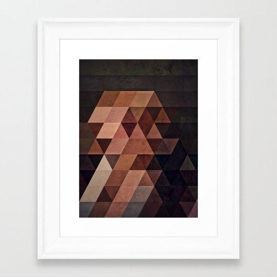 xhystnyt_vyxyn Framed Art Print