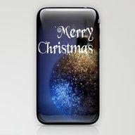 Merry Christmas - Card 4 iPhone & iPod Skin