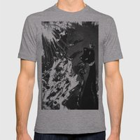 Black Cat Storm Mens Fitted Tee Athletic Grey SMALL