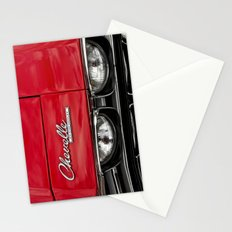 1969 Red Chevrolet Chevelle Car Stationery Cards