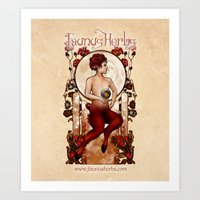 Faunus Wall Tapestry Por… Art Print