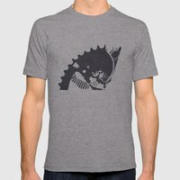 Industrial II Mens Fitted Tee Athletic Grey SMALL