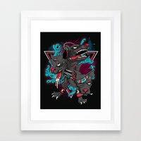 Cerverus Framed Art Print