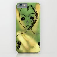 iPhone & iPod Case featuring We Come In Peace. by MorningMajor