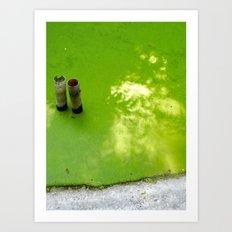 Slime & Light Art Print