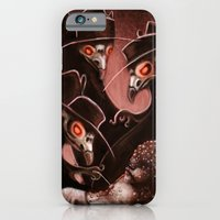 iPhone & iPod Case featuring Plague Doctors by Katie Lawter