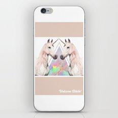UNICORN BITCH! iPhone & iPod Skin