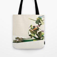 Walking Shadow, Turtles Tote Bag