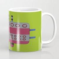 Indian Woman With Pink B… Mug