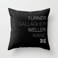 Main Men Throw Pillow