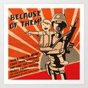Propaganda Series Art Print