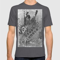Urban Jungle Mens Fitted Tee Asphalt SMALL