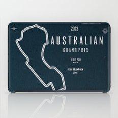 2013 Australian Grand Prix iPad Case