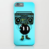 iPhone & iPod Case featuring BOOMBOX by Alex Solis