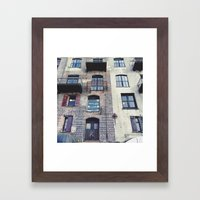Just Look Up Framed Art Print