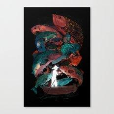 The Fishing Trip Canvas Print