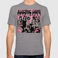 ELO Mens Fitted Tee Tri-Grey SMALL