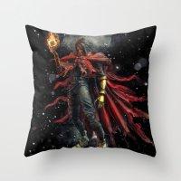 Epic Vincent Valentine F… Throw Pillow