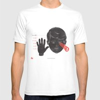 The Human Senses Mens Fitted Tee White SMALL