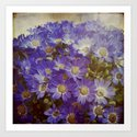MY BOHEME FLOWERS Art Print