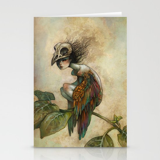 Soul of a Bird Stationery Card