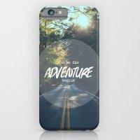 The Adventure Begins iPhone 6 Slim Case