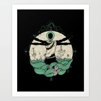 History of Space Art Print