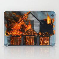 House On Fire iPad Case
