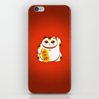 Lucky Cat 2 iPhone & iPod Skin