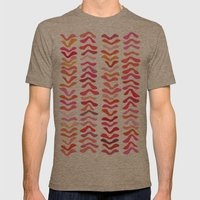 Rhythm Mens Fitted Tee Tri-Coffee SMALL