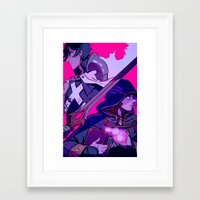 Two Halves of the Same Whole Framed Art Print