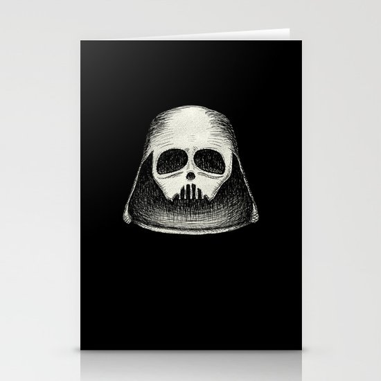 Death Vader Stationery Card