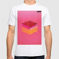 Toast: Facebook Shapes & Statuses Mens Fitted Tee Ash Grey SMALL