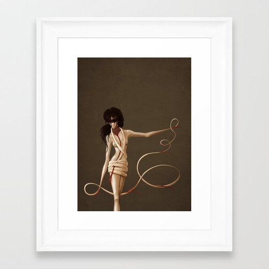 Self Bound Framed Art Print